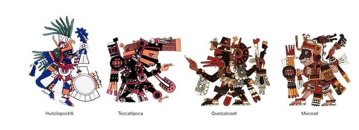 Dioses Aztecas - Mitologia.info